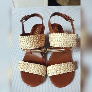 MIA Karli Wedge Shoes Size 6M